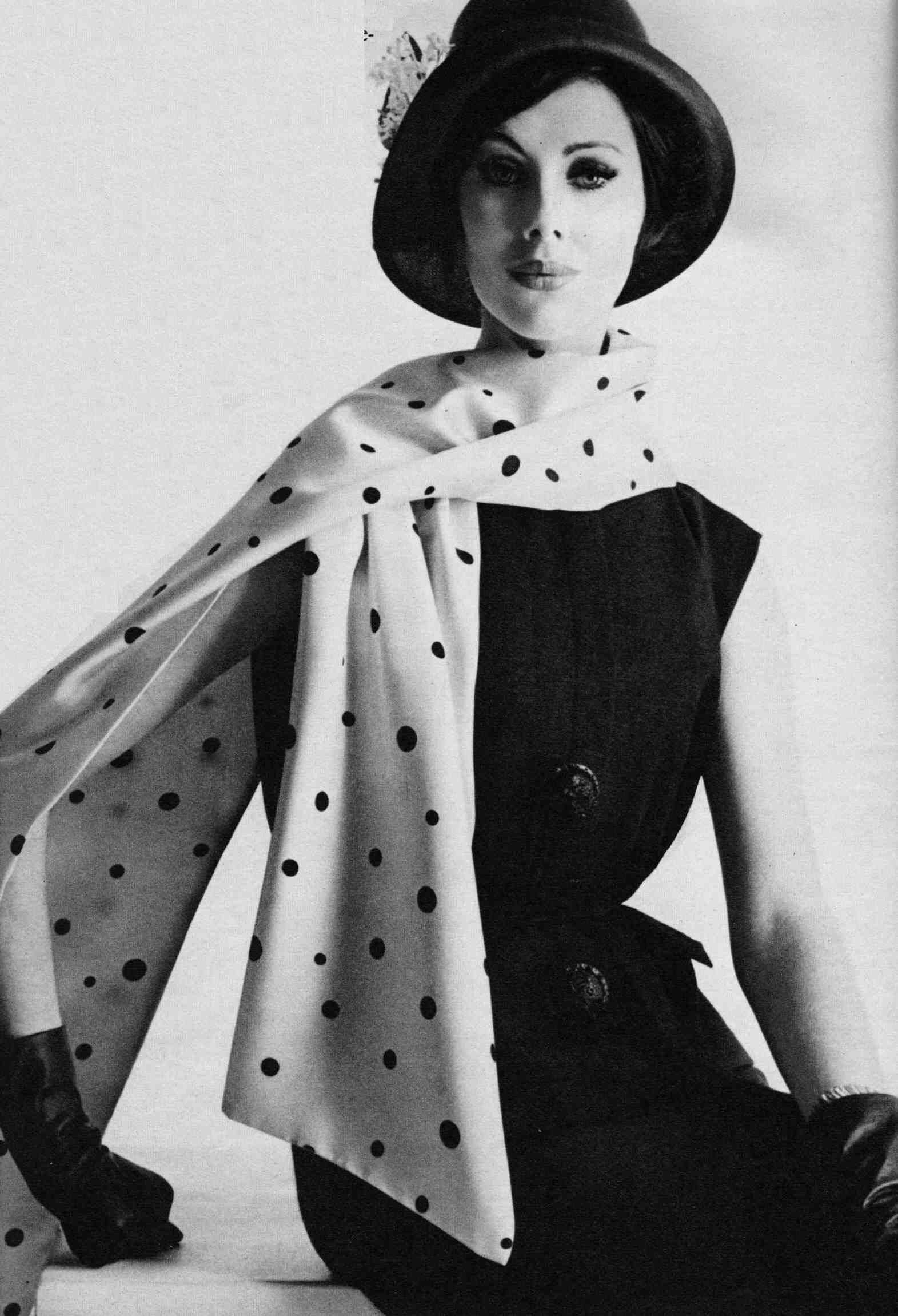 Polka dot fashion history 68