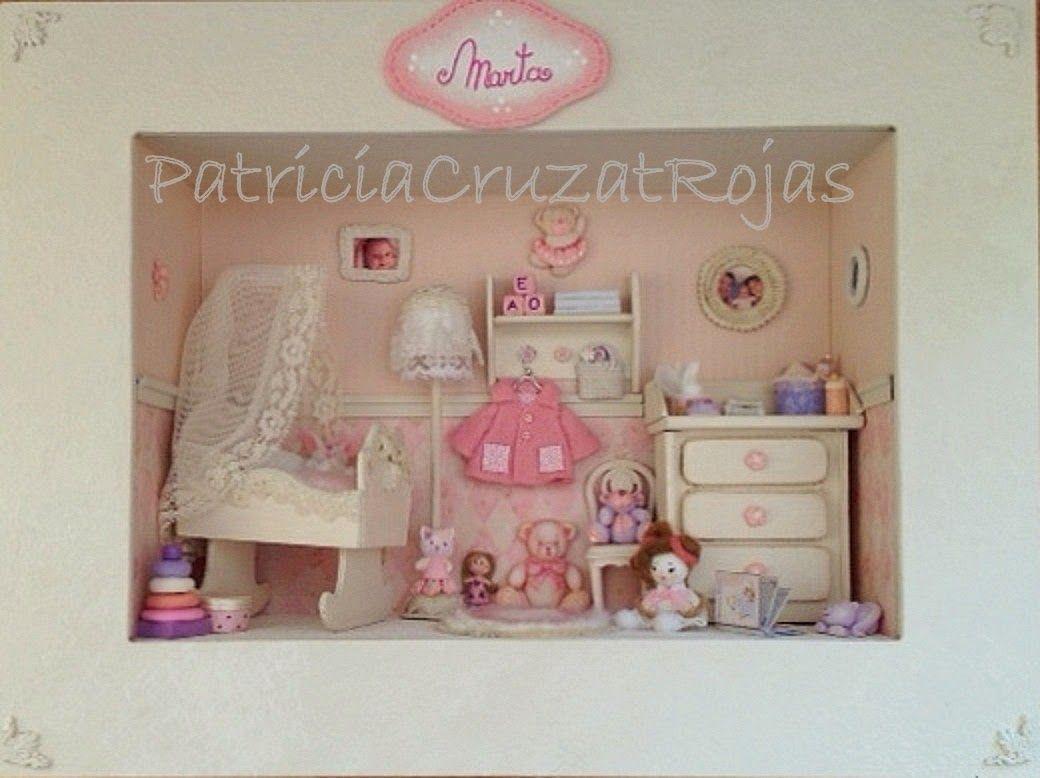 Patricia Cruzat Artesania y Color: Dormitorio Bebé Niña para Marta ...