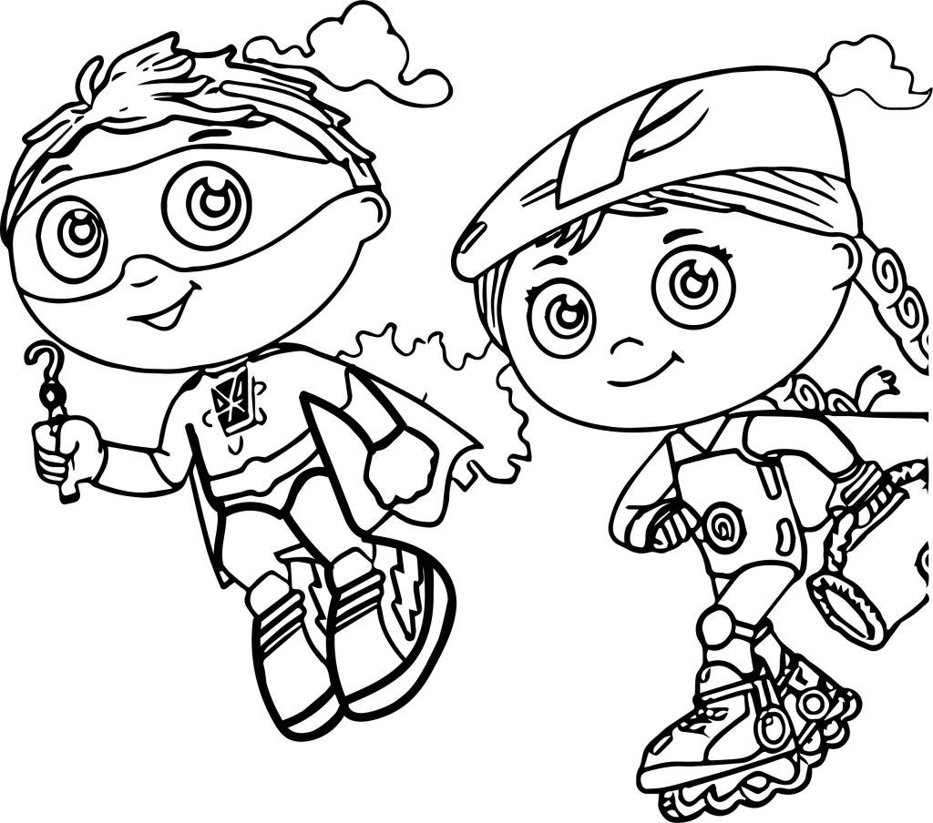 Super Why Coloring Pages - Best Coloring Pages For Kids  Cartoon