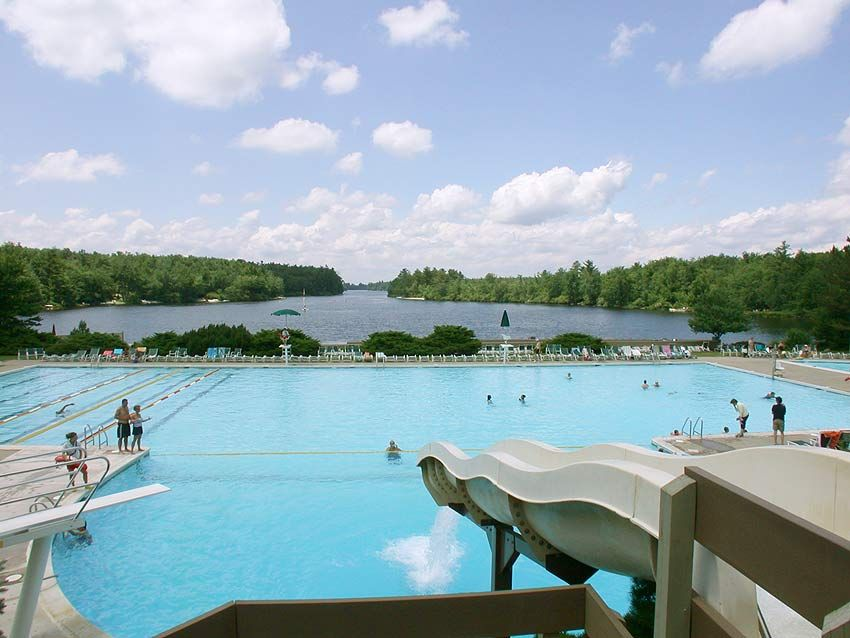Image detail for lake naomi pool poconos vacation