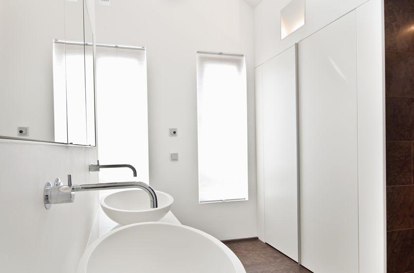 Bad im Schlafzimmer - Schlafzimmer Badezimmer Kombination - parkett für badezimmer
