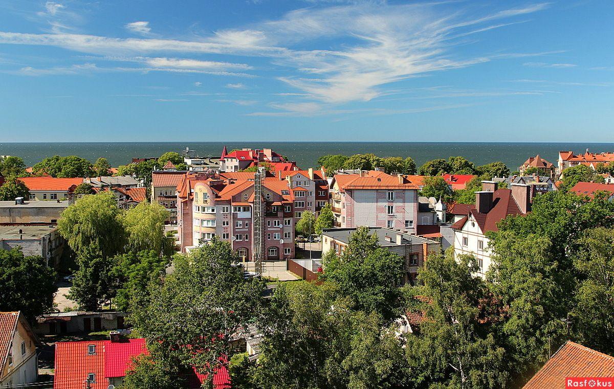 зеленоградск фото города наиболее красивым