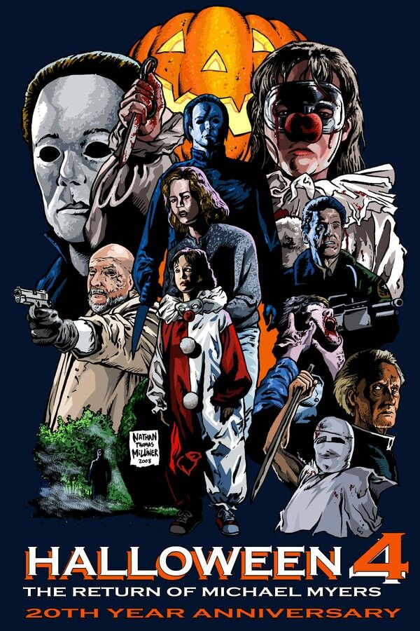 Halloween 4: The Return Of Michael Myers | film posters ...