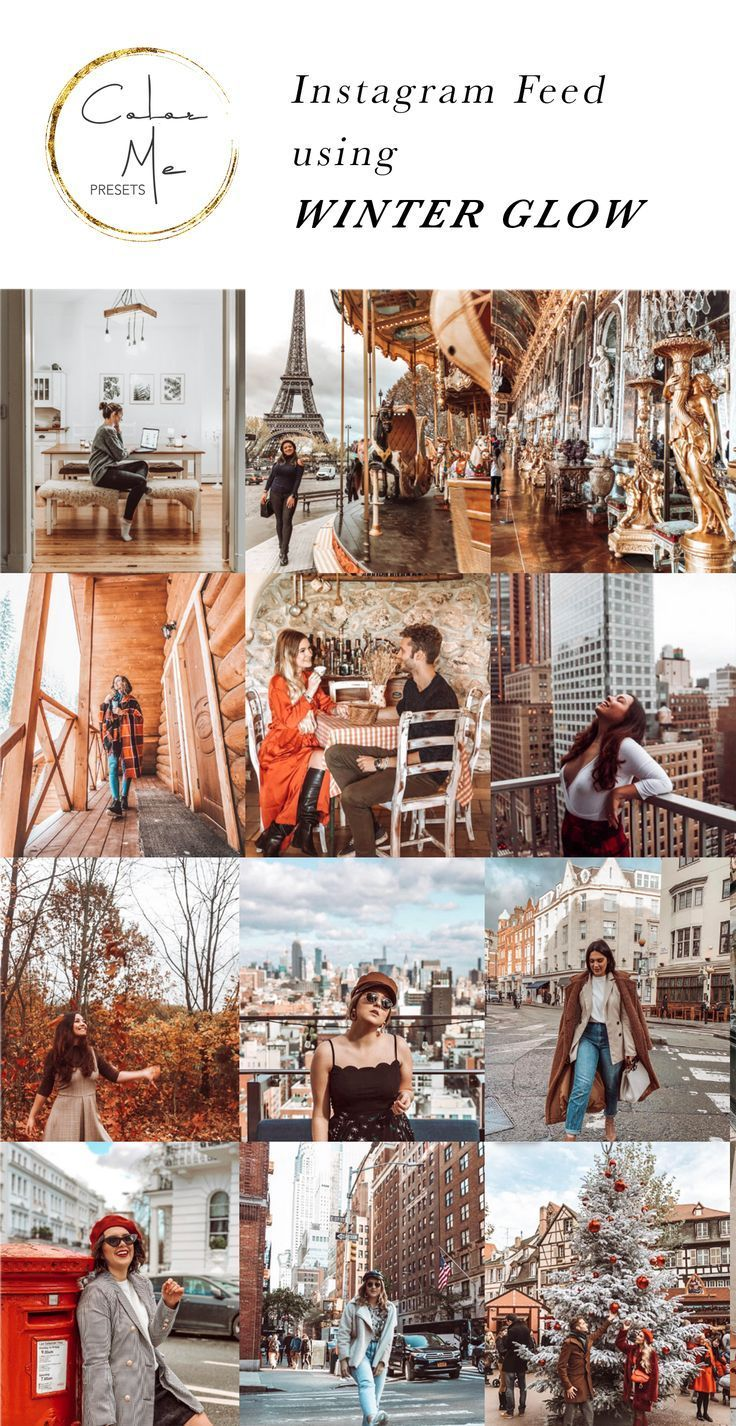 WINTER GLOW Lightroom Mobile Preset - Lightroom Presets for bloggers or anyone wanting to glow up their instagram feed! #lightroom #photoshop #presets #moody #selfie...