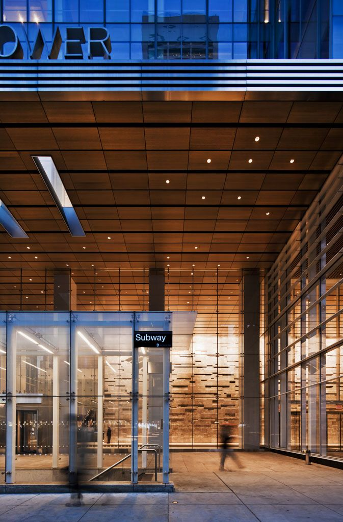 One bryant park bank of america tower credit cook for Tim bryan architect
