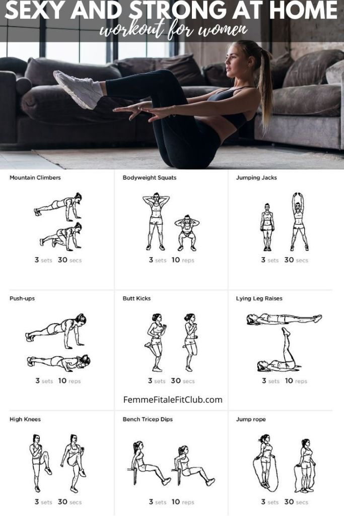Strong and Sexy: The Best Full-Body Workout Routine for Women