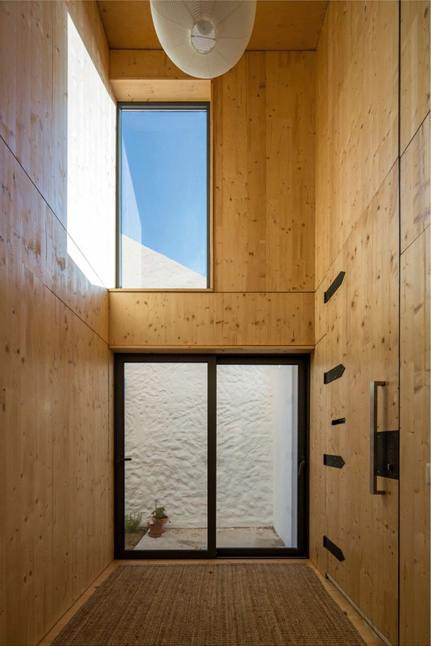 Ze home by paratelier stucco walls house inside interior architecture also self build inspiration pinterest rh br