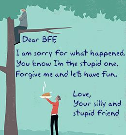 Apology Letter To A Friend  Inspirational Posters Friendship And