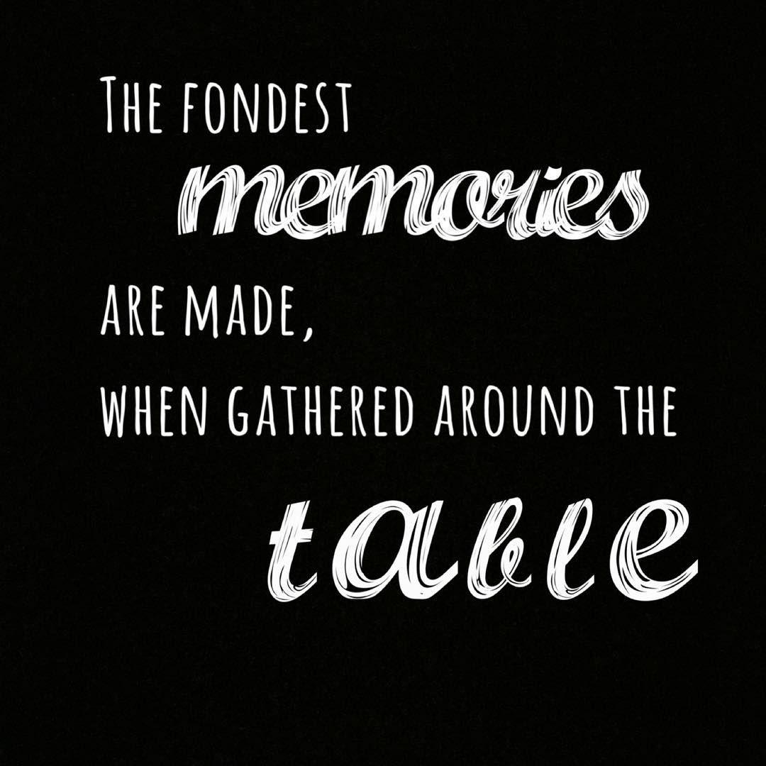 Die tiefsten Erinnerungen entstehen, wenn wir uns gemeinsam an den ...