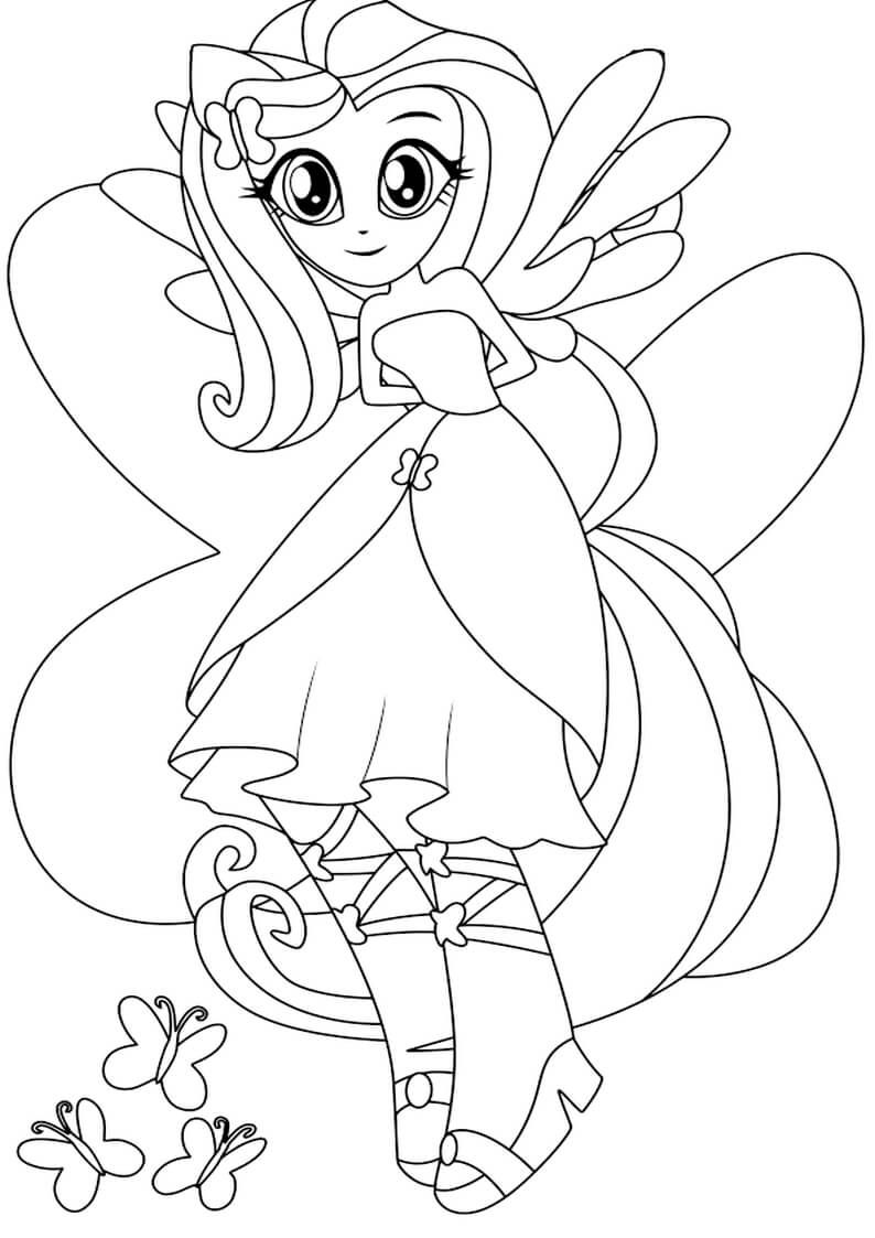 My Little Pony Equestria Girls Coloring Pages | Pinterest ...