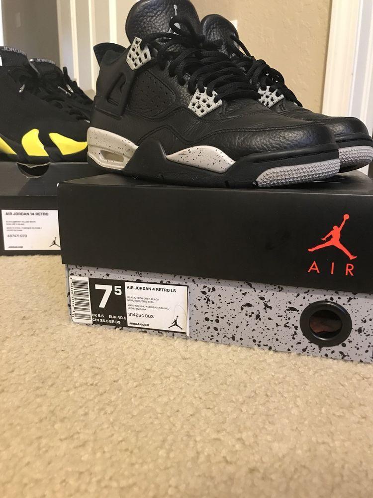 ae2ba86ae1c Jordan 4 Oreos Size 7.5 Jodans Nike Great Condition #fashion #clothing # shoes #accessories #mensshoes #athleticshoes (ebay link)