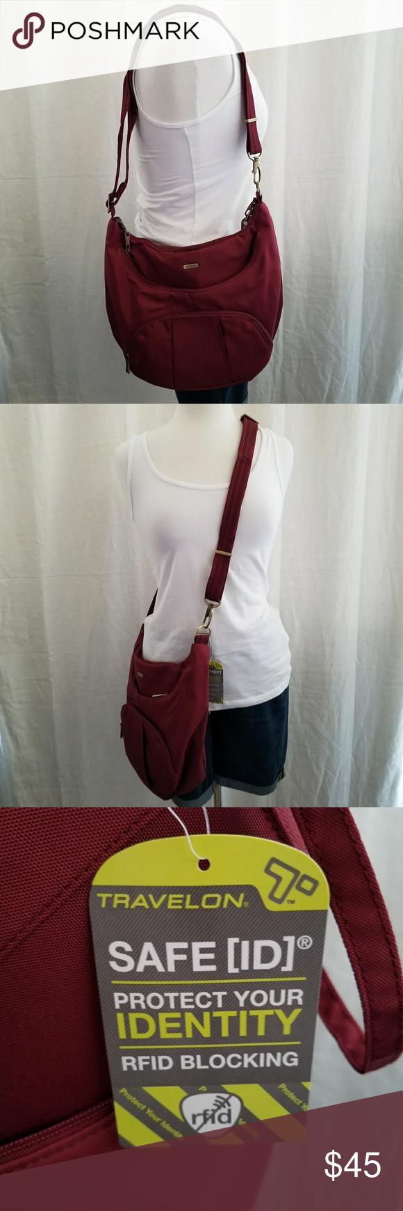 Crossbody Bags · Slip On · Purses · Travelon Anti-Theft Purse  amp  Wallet Travelon  Anti-Theft Purse w  adjustable 199b9cdc72