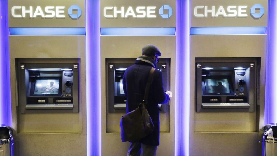 Chase will allow you to withdraw money with your