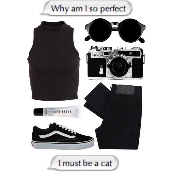 8 by annaito on Polyvore featuring мода, Bardot, Cheap Monday, Vans, Bobbi Brown Cosmetics and Nikon