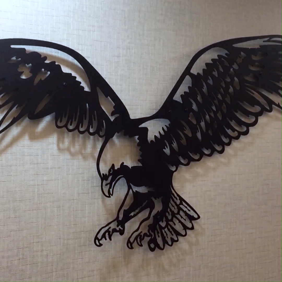 Large Metal Eagle Wall Art Metal Wall Decor Metal Wall Art Etsy Video Video Eagle Wall Art Eagle Metal Wall Art Unique Metal Wall Art