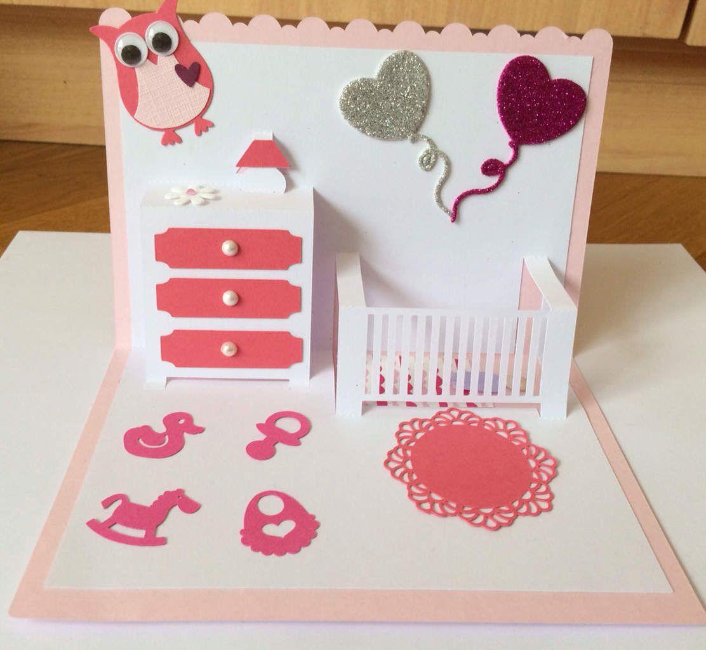3d Pop Up Carte D/'Anniversaire Idéal pour petite fille nièce fille enfants