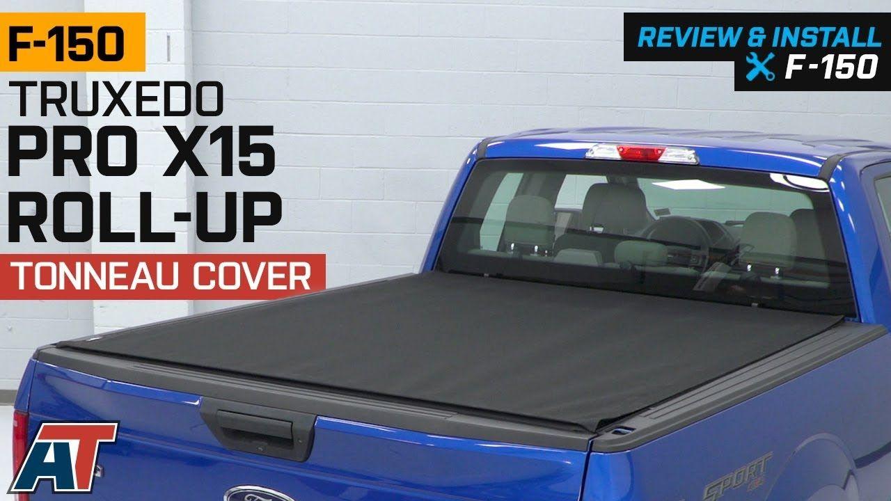 20152018 F150 Truxedo Pro X15 RollUp Tonneau Cover