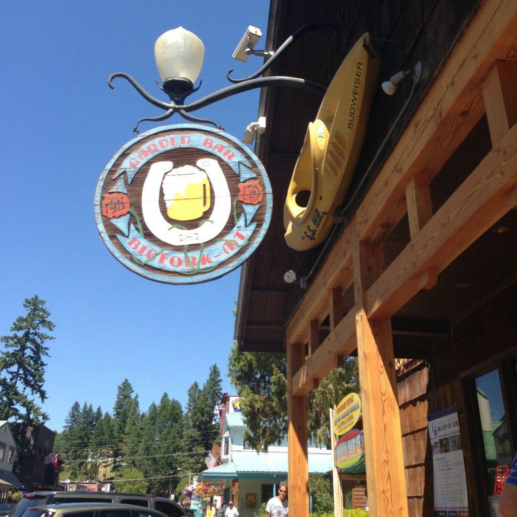The Garden Bar In Bigfork, Montana