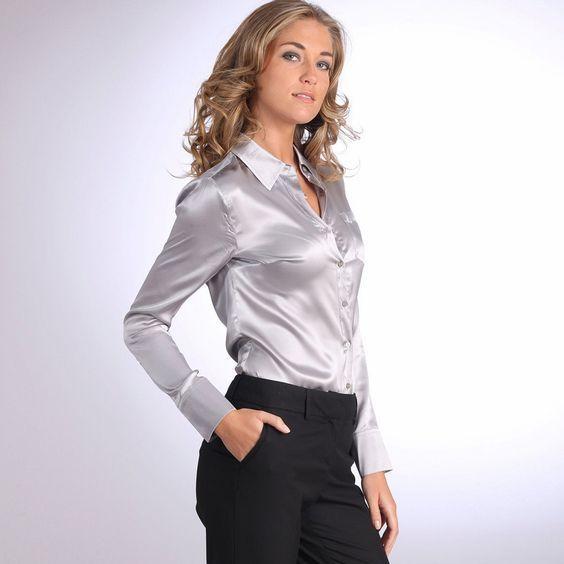 Pingl par l bo sur chemisier blouse sexy pinterest for Robes de noce ann taylor