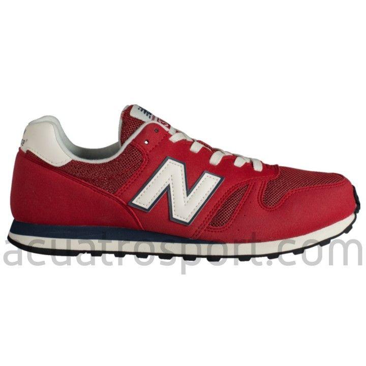 new balance hombre 373 rojo