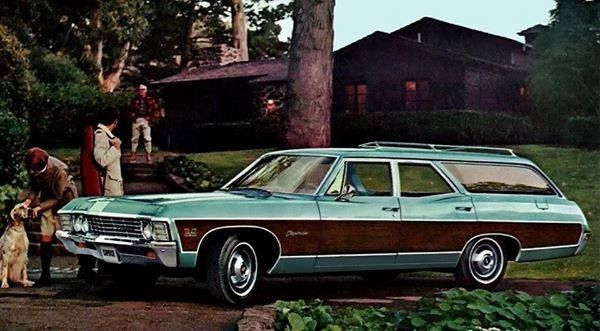 1967 Chevy Caprice Estate Wagon Station Wagon Chevrolet Caprice