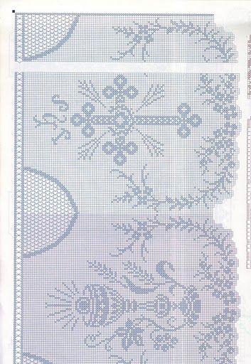 Filet crochet - Majida Awashreh - Álbumes web de Picasa   CHURCH ...
