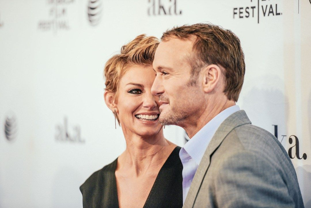 Tim McGraw and wife Faith Hill are busy with career, home and family, but McGraw says it's Hill who keeps him and their family organized and on track.