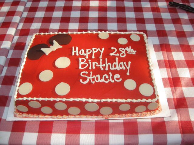 My Minnie-inspired birthday cake!