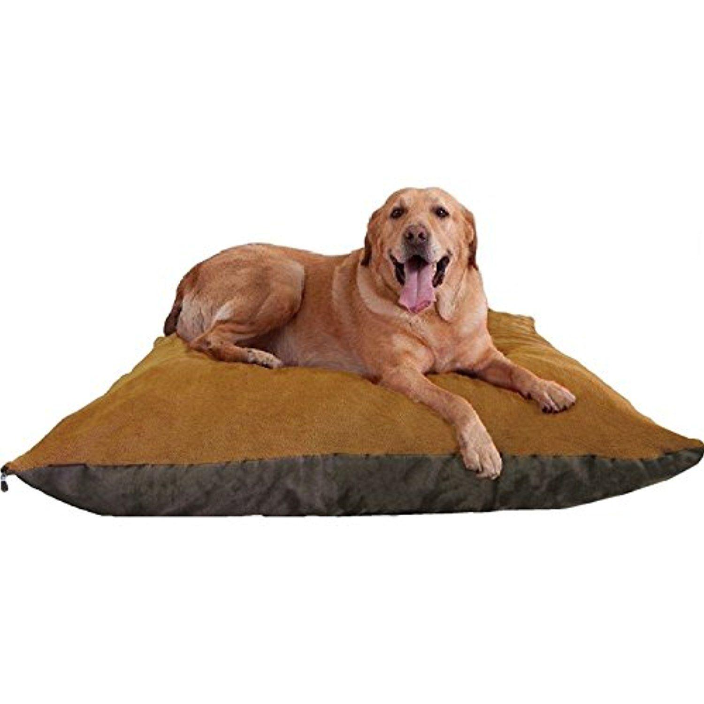 54 X47 Xxxl Sudan Brown Jumbo Orthopedic Micro Cushion Memory Foam Pet Bed Pillow For Xlarge Dog With 2 Ex Waterproof Dog Bed Dog Pet Beds Memory Foam Pet Bed