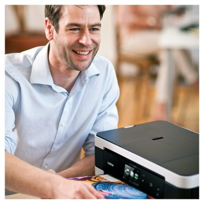 """Brother Mfc-J4620DW Wireless Color Inkjet All-in-One Printer with 11"""" x 17"""" Printing and Nfc Capability - Black (MFCJ4620DW)"""
