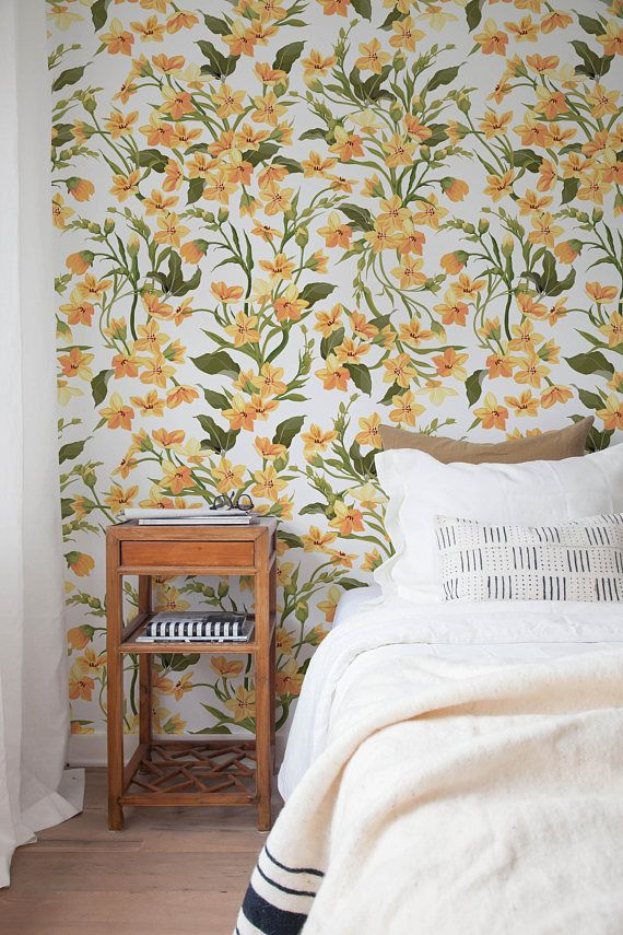 Removable Wallpaper Peel And Stick Wallpaper Wall Paper Wall Etsy Removable Wallpaper Self Adhesive Wallpaper Smooth Walls