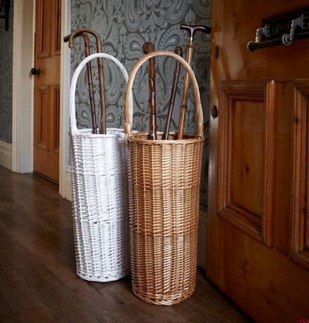 Perfect Willow Umbrella Stand, Great Addition To Your Country Cottage For Extra  Storage In The Hallway