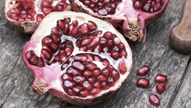 health benefits of pomegranate What's the big deal about the crown fruit? Pomegranate's health benefits explained.What's the big deal about the crown fruit? Pomegranate's health benefits explained.