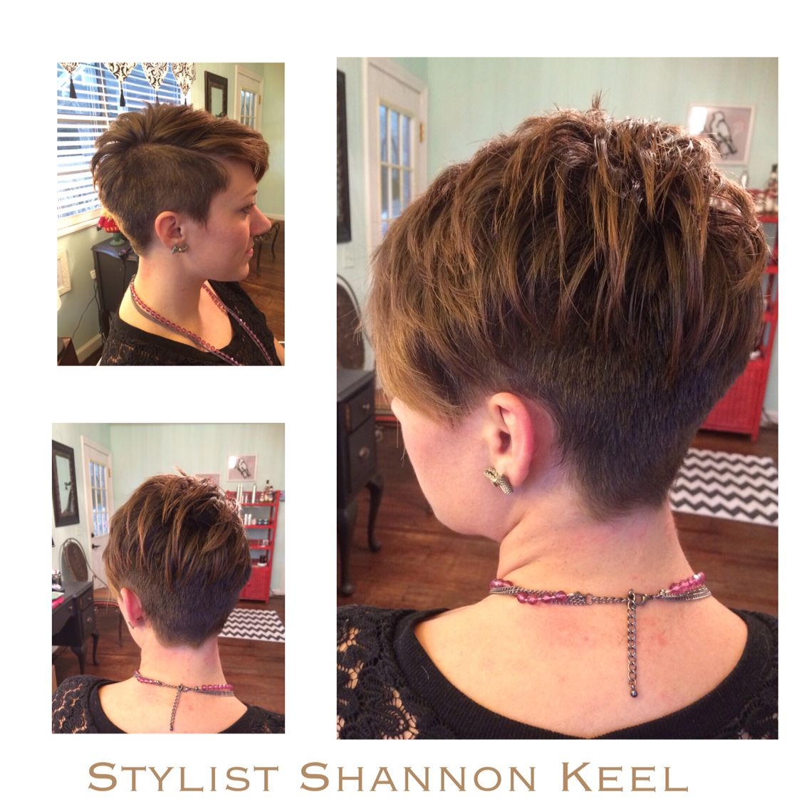 short pixie under cut | my hair color and hairstyles | short