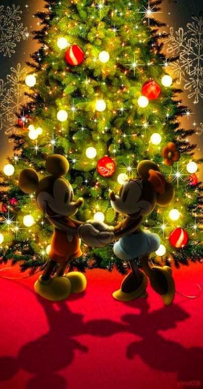 Christmas Wallpaper Iphone Vintage In 2020 Mickey Mouse Christmas Mickey Christmas Wallpaper Iphone Christmas