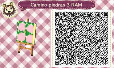 Este es un QR Code para Animal Crossing, creado por mí; como podéis observar, es un camino de piedras. [3-9]  Lo podéis encontrar en mi canal de YouTube: https://www.youtube.com/channel/UCh6uwa2CjSgR4WQ-ghRQY6Q (Roxy).  ¡Espero qué os guste! ;)