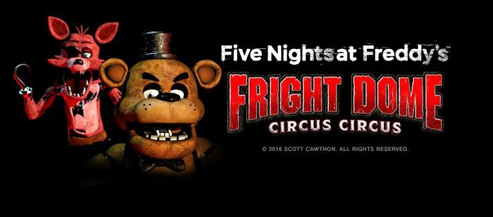 fright dome at circus