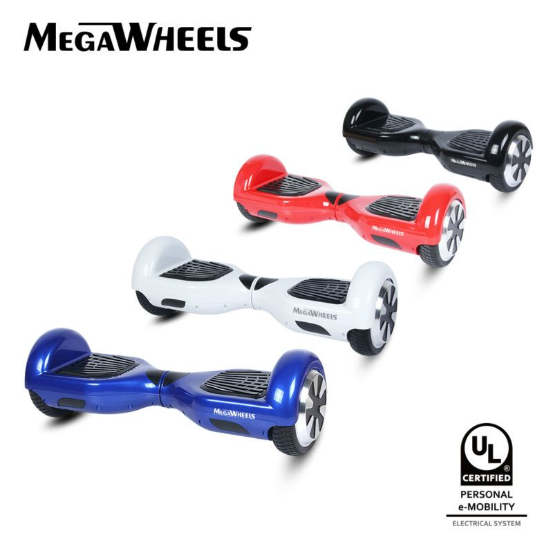 Megawheels Tw01c Two Wheels Ul2272 Certified Electric Self Balancing Hoverboard Standing Scooter Skateboard Ul Certifi Hoverboard Electrical System Electricity