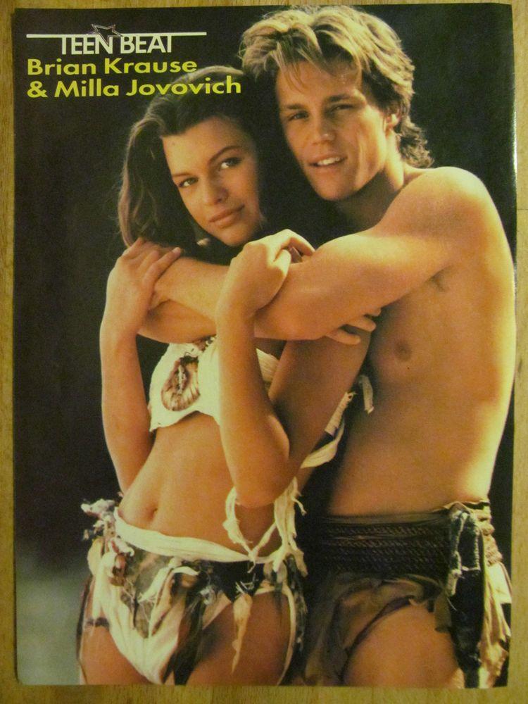 Brian Krause, Milla Jovovich, Return to the Blue Lagoon ...