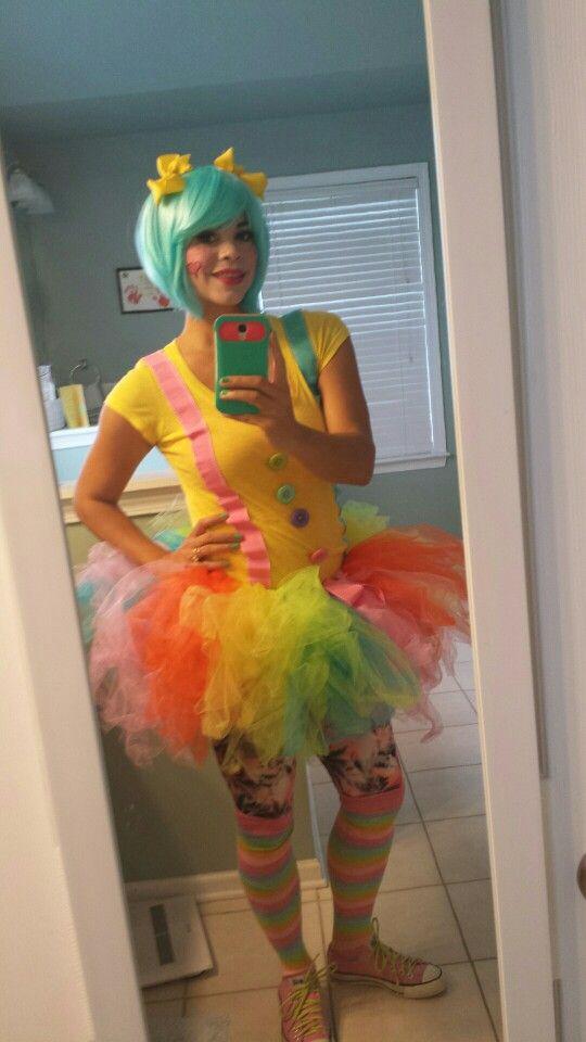 Cute Clown Outfit Halloween Disfraces Vestidos De