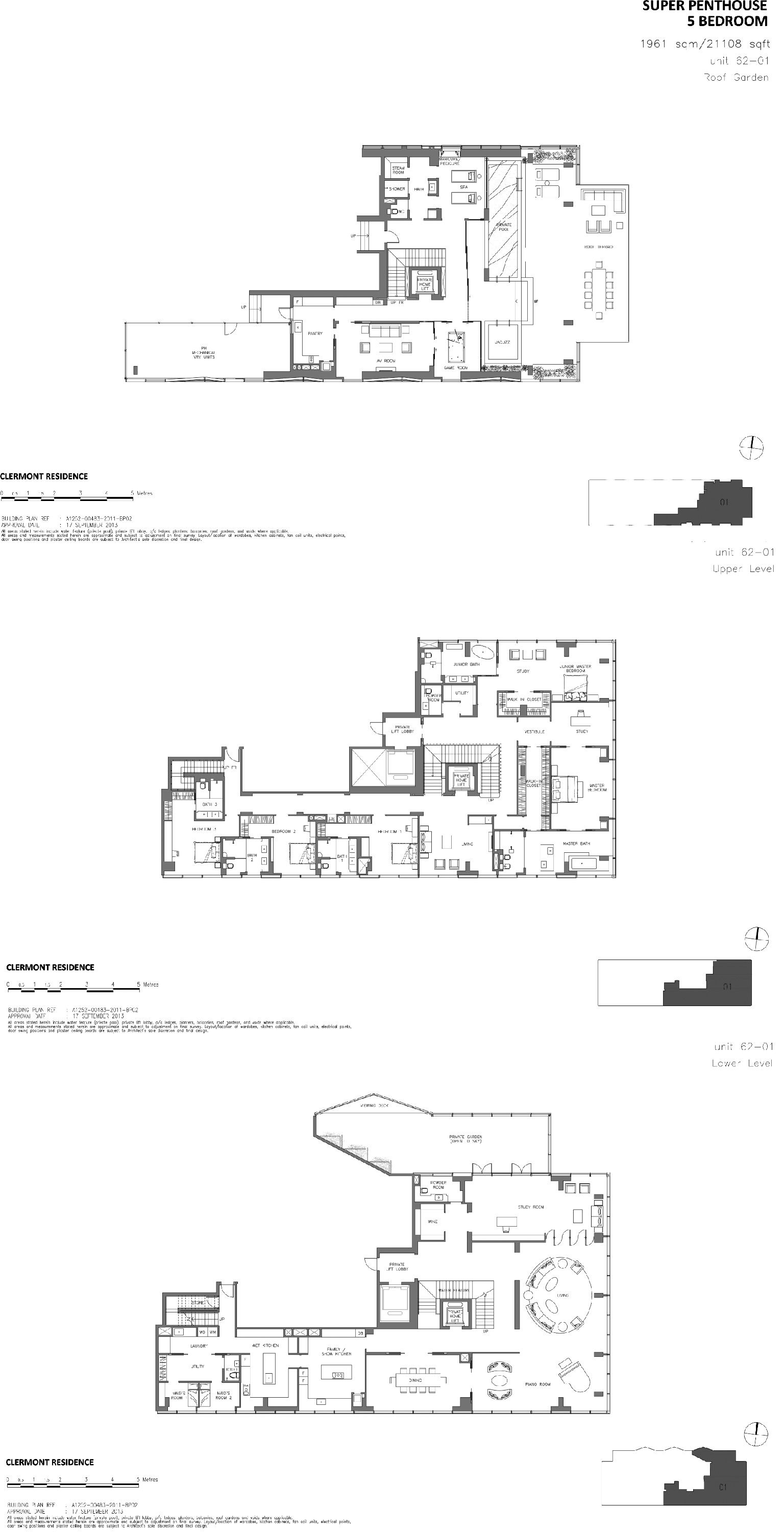 Wallich Residence Singapore Floor Plans House Floor Plans Modern House Plans