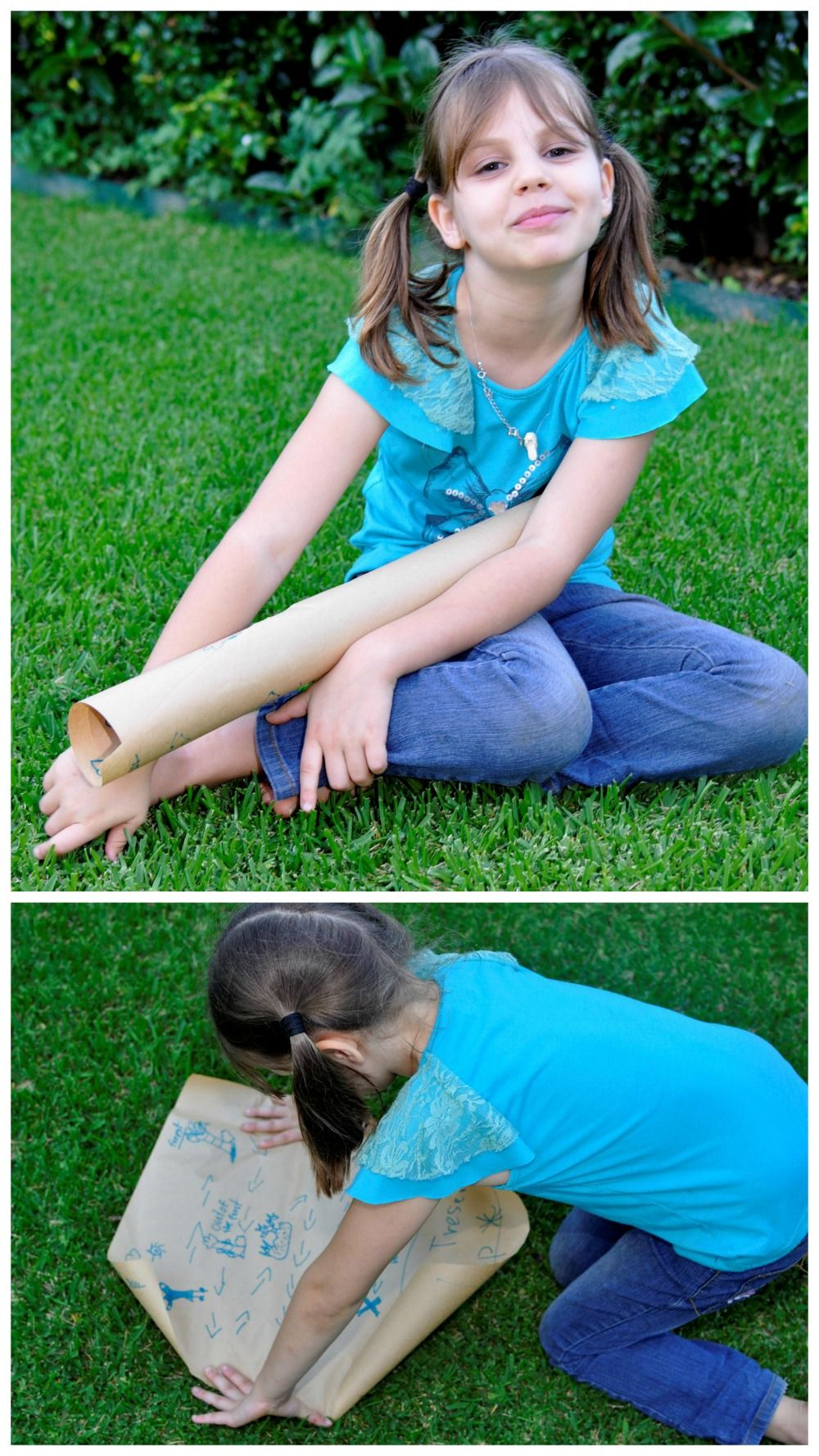 Make a treasure map out of a roll of brown paper learning games 2d22a22a1767ee99c4b27e61e69dedbdg jeuxipadfo Choice Image