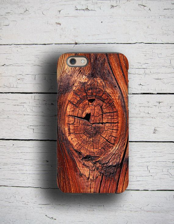 Can you smell it??? This phone case looks so real. Perfect gift for men.  @@@ NOT MADE FROM REAL WOOD @@@ Its a print wrapping around the sides