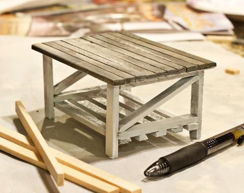 DIY Mini Woodworking: Miniature Coffee Table using 2x4s