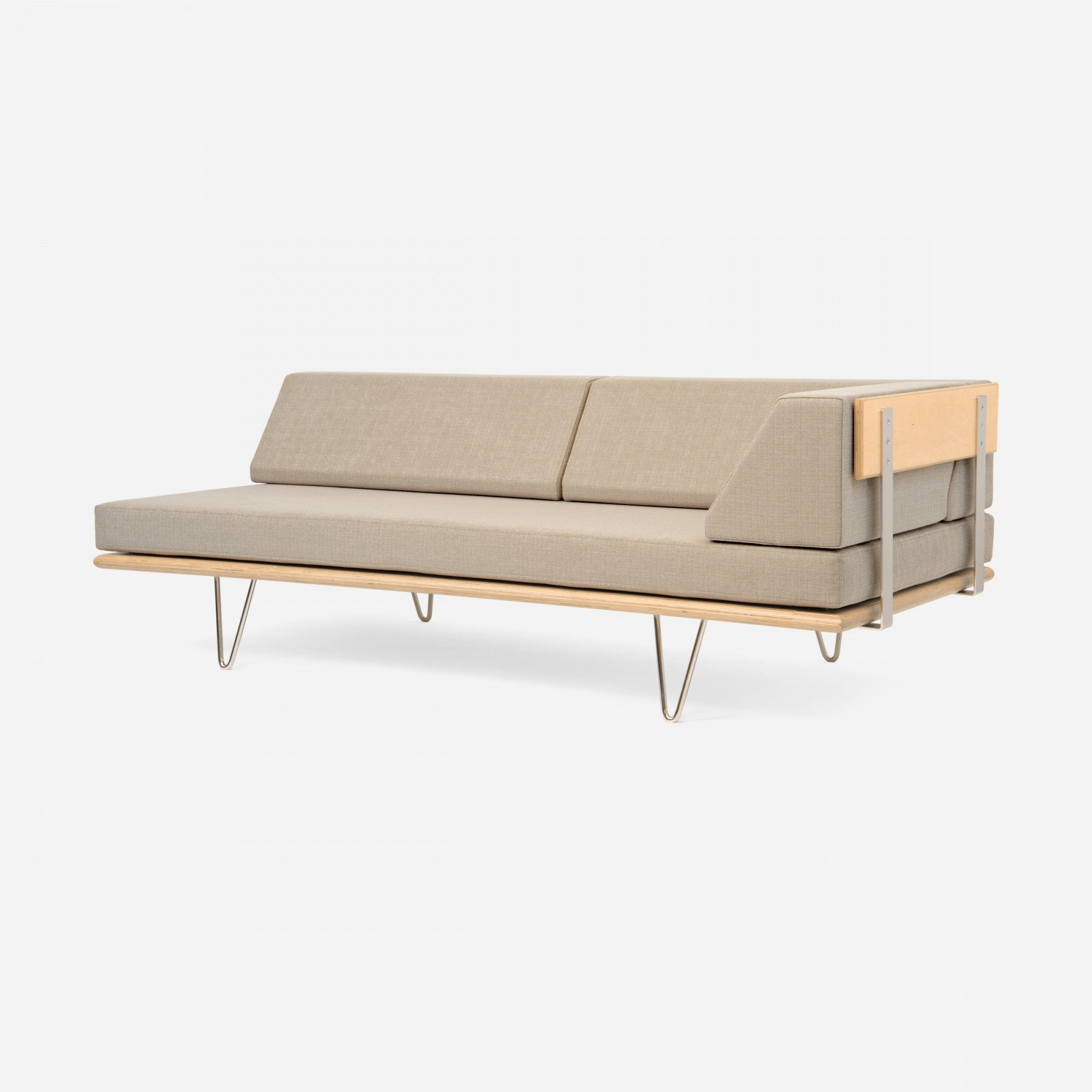 Case Study VLeg Daybed wArm Daybeds Seating Modernica