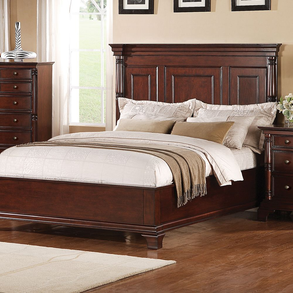 Ridgecrest Wood Low Profile Panel Bed by Winners Only