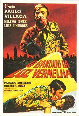 O Bandido Da Luz Vermelha Rogerio Sganzerla 1968 Cartaz Miecio