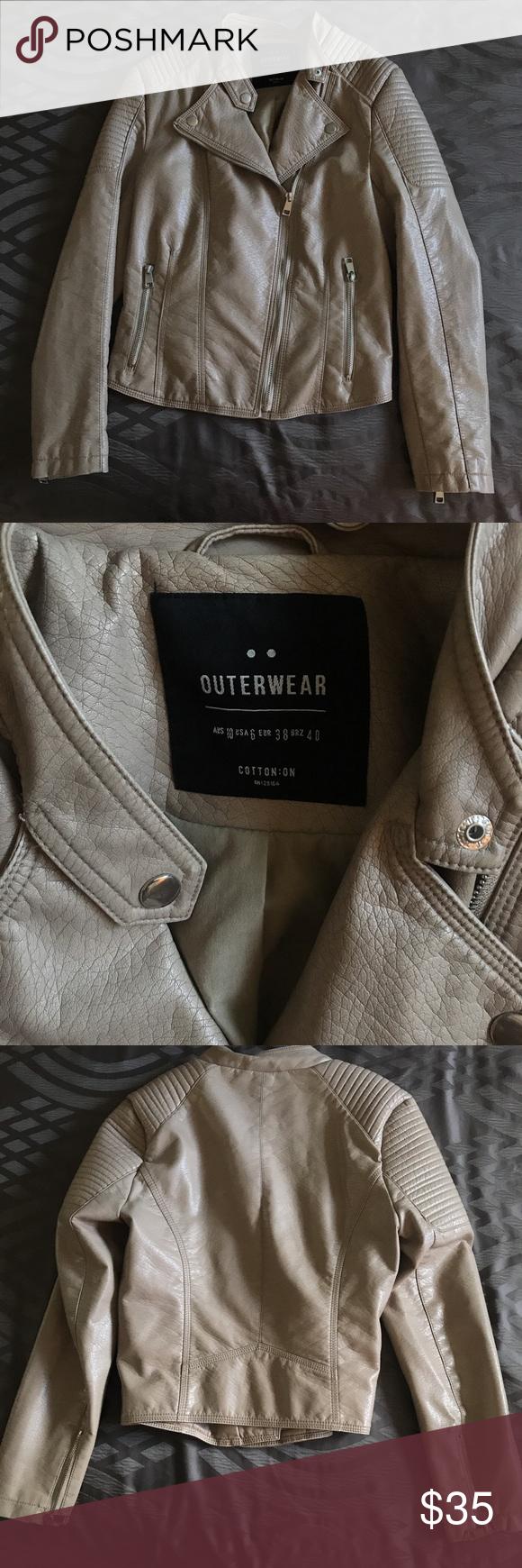 Faux leather jacket Leather jacket, Faux leather jackets