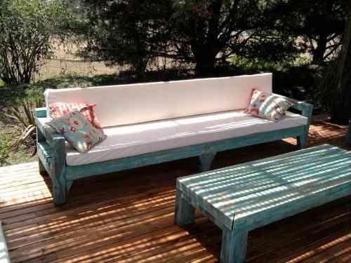 Sillones rusticos patio home decor furniture y patio for Sillones de jardin de madera