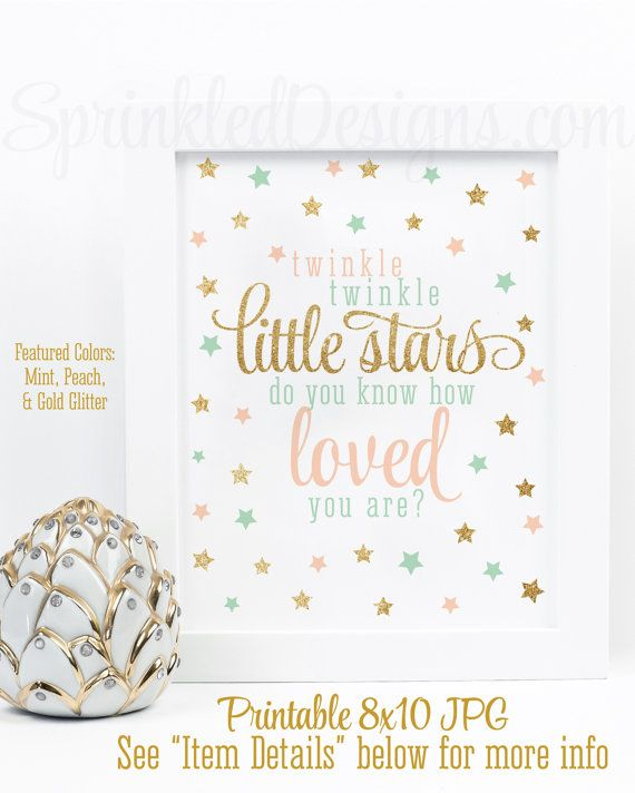 Twinkle Twinkle Little Stars Do You Know How Loved You Are ...